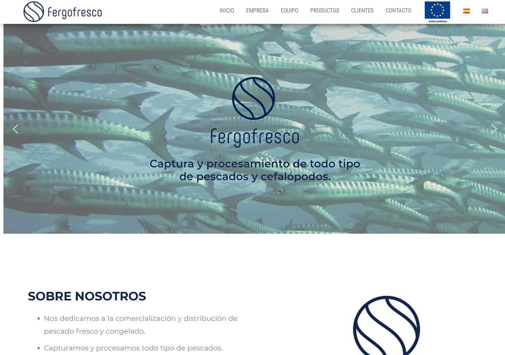 Diseño web fergofresco captura